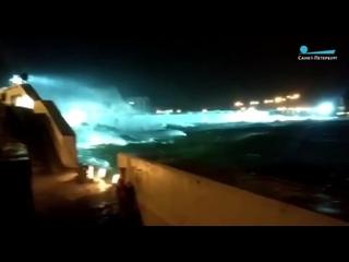 Петербургская дамба спасла город от наводнения