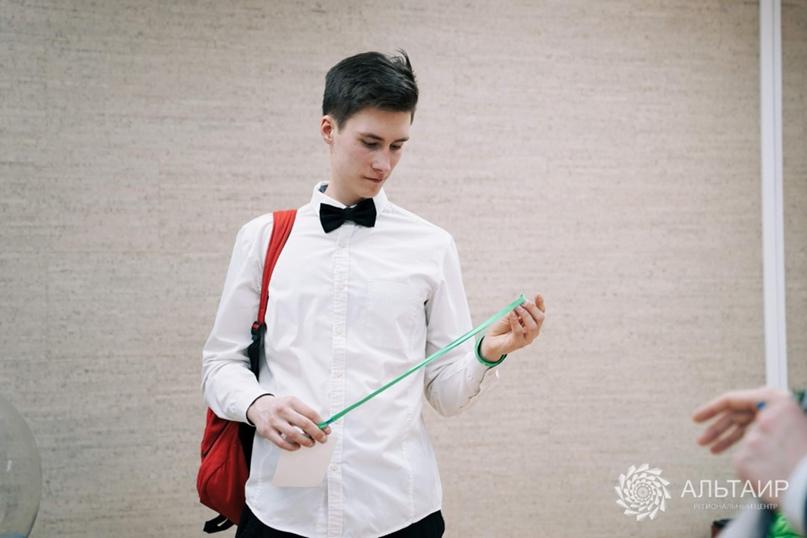 Виктор Зайцев на финале Регионального конкурса «Большие Вызовы»