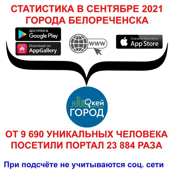 🔥В сентябре 2021 городской портал