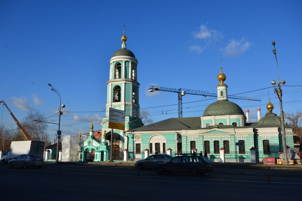 В храме Живоначальной Троицы в Карачарове состоится архиерейское богослужение. Фото: А.Кочубей. Местные новости