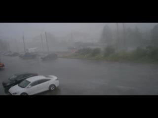 Небольшой летний дождик в Дзержинске