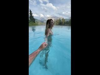 Видео от Елены Прилучной