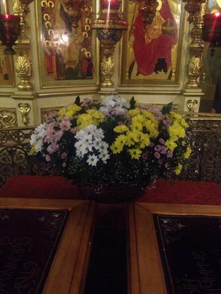 Анна Александрова: Корзина к мощам св. мучеников Александра и Фёдора  Храм Казанской Божьей Матери