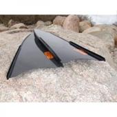Лопасти Leaderfins карбоновые (технология сэндвич) Sterеoblades Carbon, размер 20x80 см