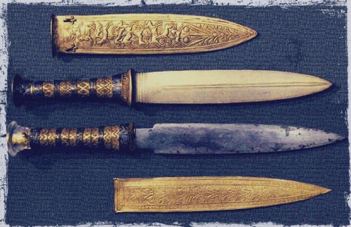 Оружие из гробницы Тутанхамона