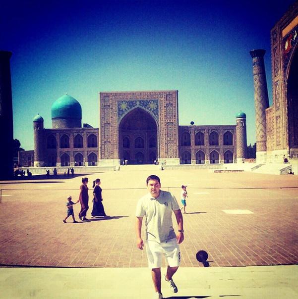 Икромджон Илхомджонзода, Самарканд, Узбекистан