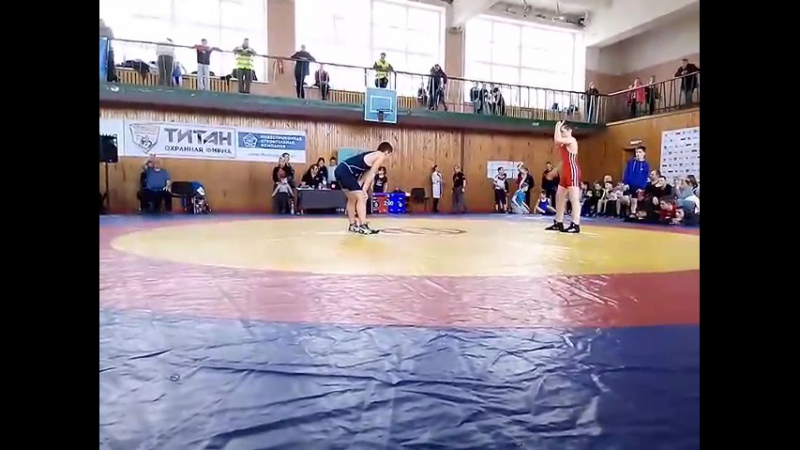 Камиль Алиев Всероссийский тунир по Вольной борьбе 21-23.04.17