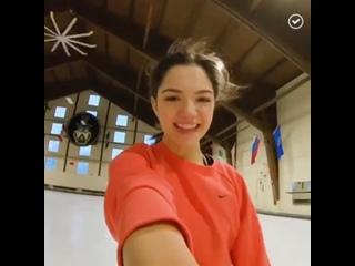 Слышали новость? Медведева снялась в рекламе Nike
