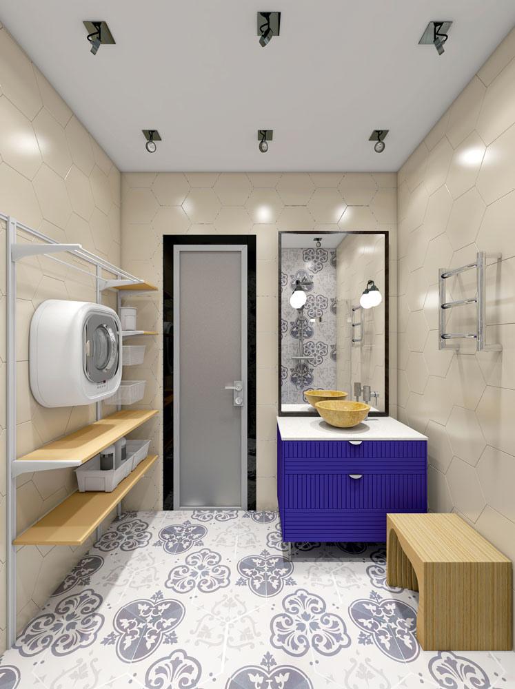 Дизайн-проект квартиры 39 м.
