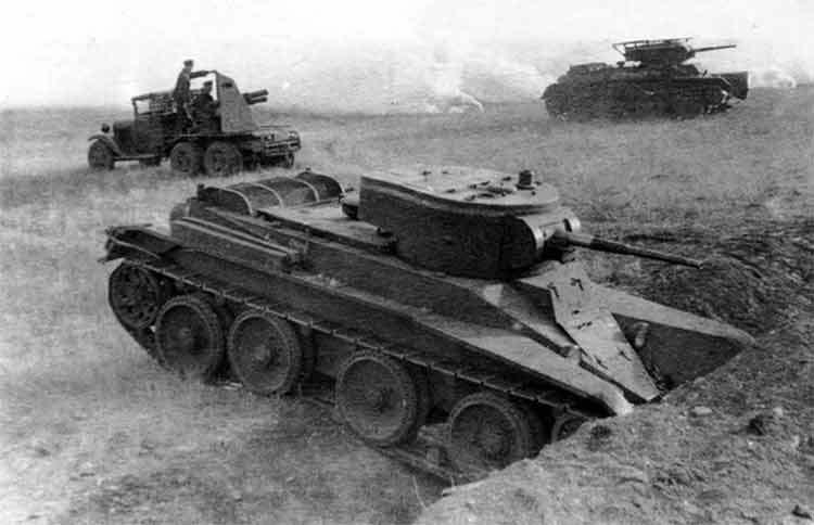 Манёвры Белорусского военного округа 1936 год.