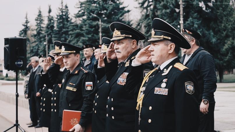 Кинокомпания «Союз Маринс Групп» поздравила ветеранов морской пехоты