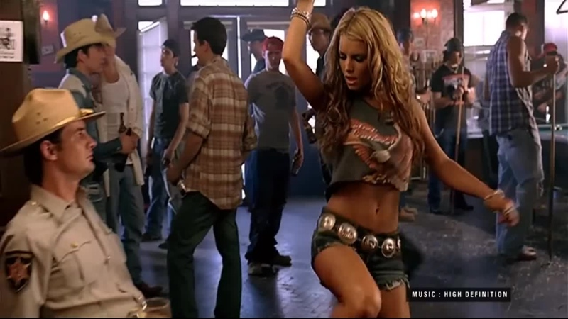 Jessica Simpson These Boots Are Made for Walkin' 2006