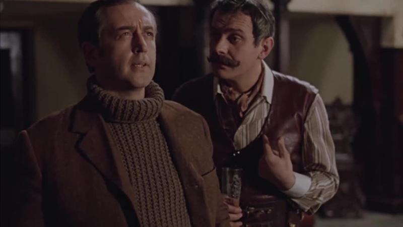 Видеофрагмент из фильма Приключения Шерлока Холмса и доктора Ватсона Собака Баскервилей