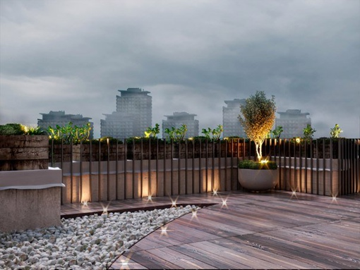 Project of office terrace in the center of Kiev
