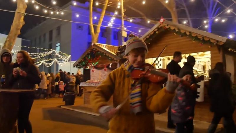 Christmas song Capra Jingle Bell Rock Let it Snow Cătălin Advahov