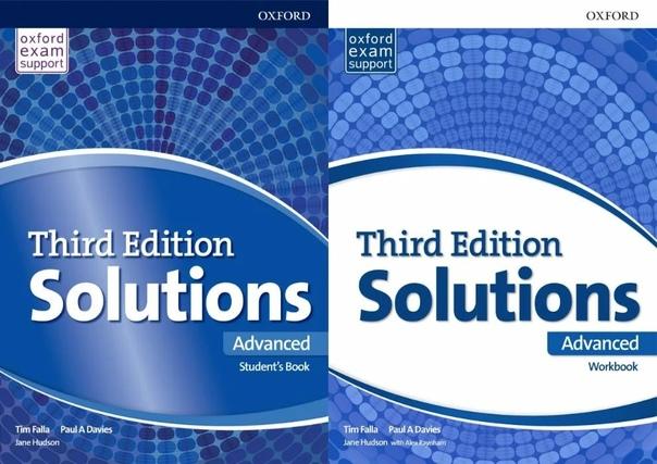 SOLUTIONS ADVANCED 3RD EDITION ..   Solomon Shamim   ВКонтакте