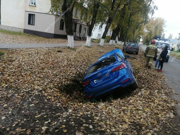 ДТП в Вычегодском.  Сегодня около 7:20 утра на ном...