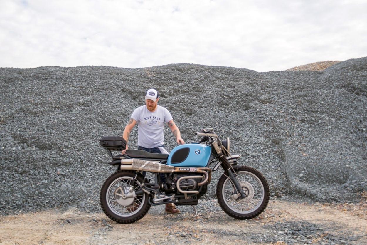 Hammer&Co: кастом BMW R100RS
