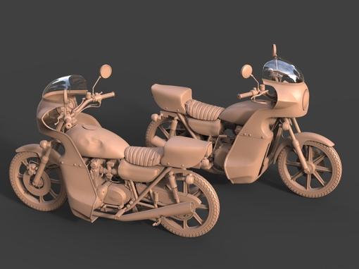 SCUM: новая модель мотоцикла С...