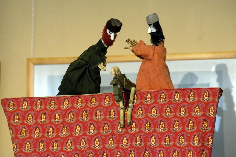 Творческая встреча с театром «Бродячий Вертеп» «Русские скоморохи и иранские кукольники»