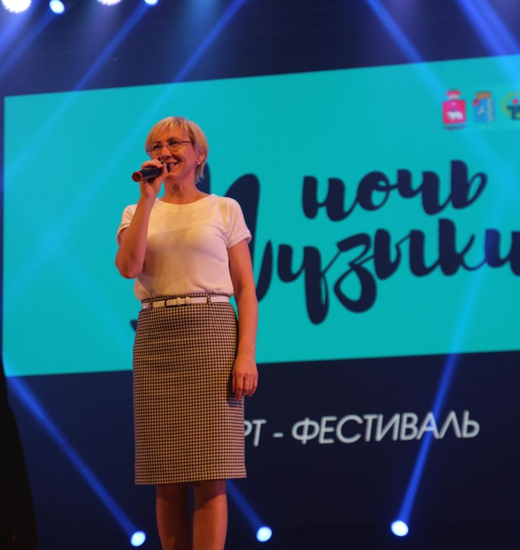 Иллюхина М.В. Заместитель министра культуры Пермского края, Чайковский, 2021 год