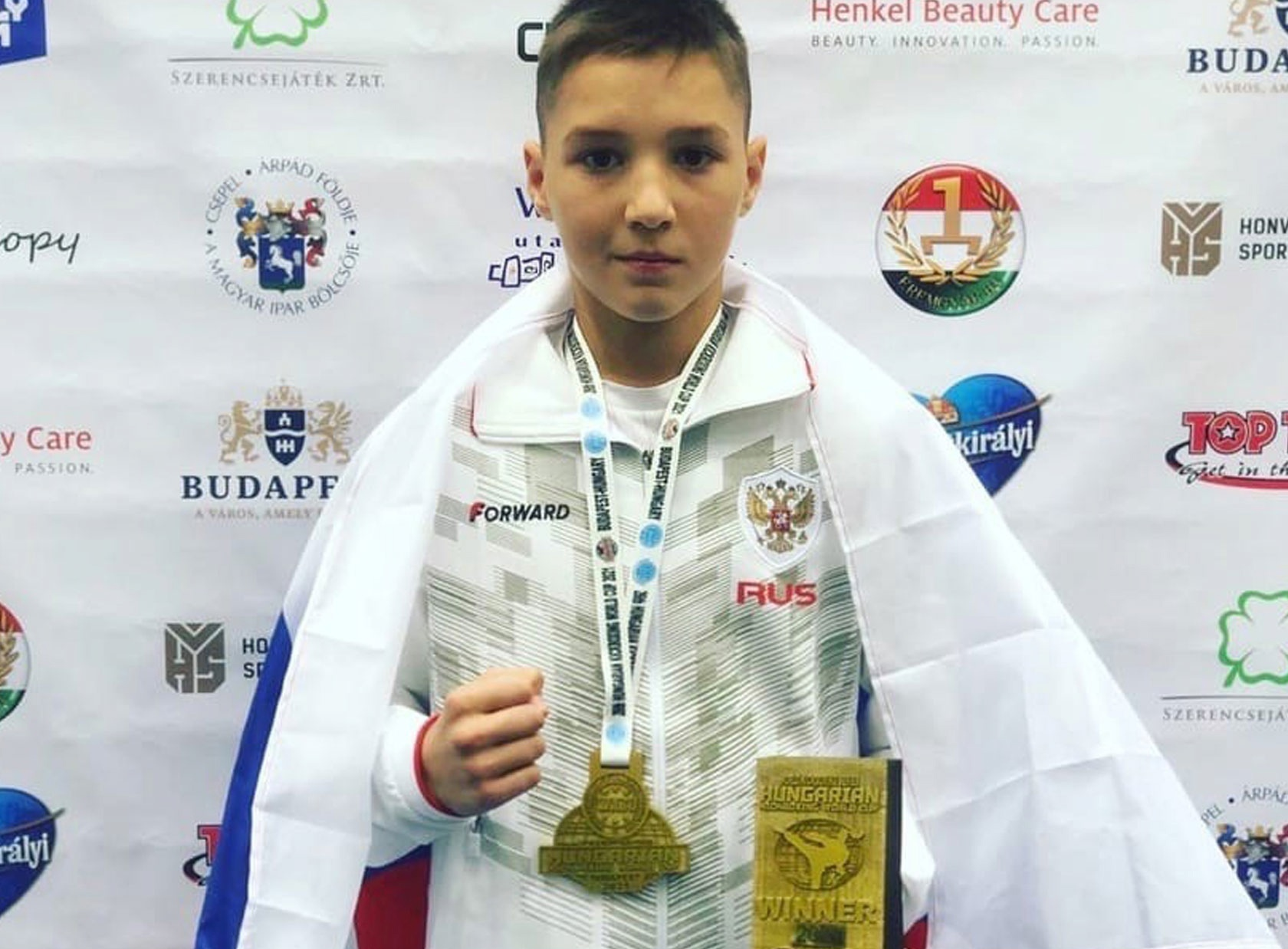 Юный ижевчанин выиграл Кубок мира по кикбоксингу