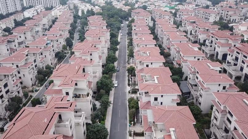 Город без людей в Китае