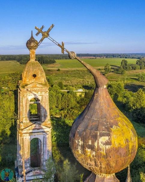 10 заброшенных церквей за пределами Москвы с коорд...