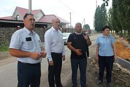 В Сырском создают пространство безопасное для жителей