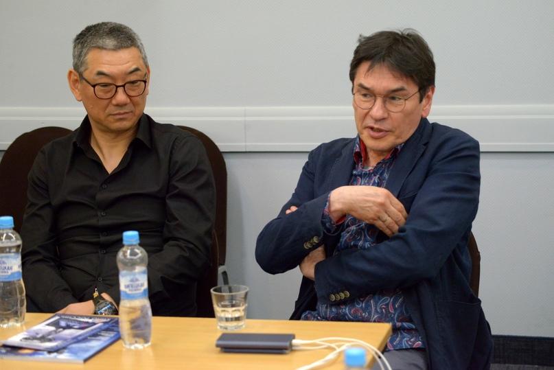 Продюсеры Тимур Хван и Марат Ким