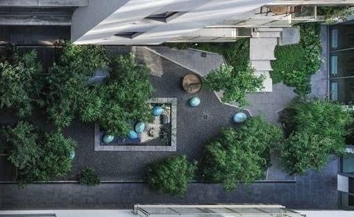 Paulay Courtyard Garden, by Ujirany/New Directions