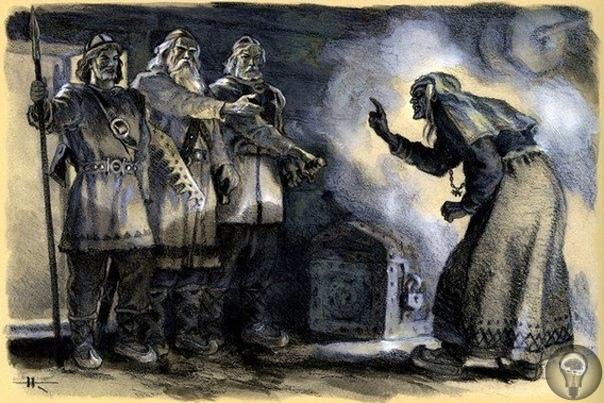 Лапландия - Земля ведьм С древних времен до наших дней тянется вера в то, что Лапландия это страна всемогущих колдунов. Во тьме бесконечной полярной ночи, при феерическом свете полярных сияний
