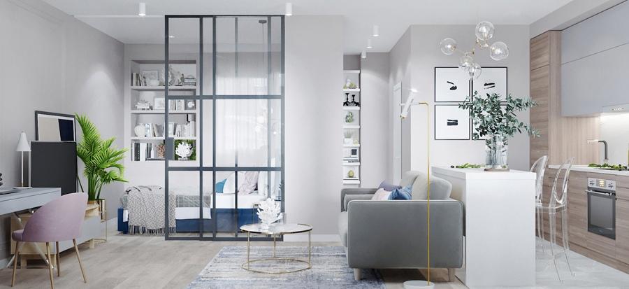 Проект квартиры 37,6 кв.