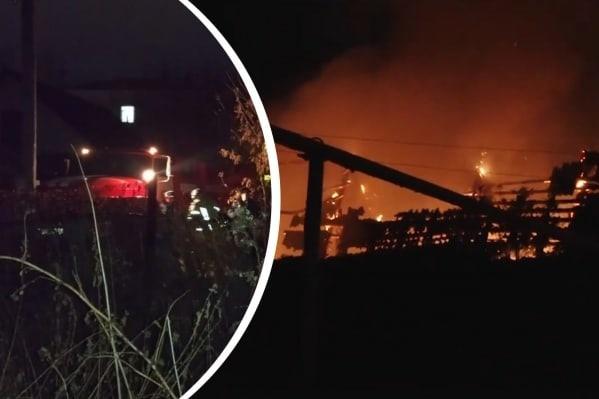 В Асбесте четыре человека погибли при пожареВ Асбе...