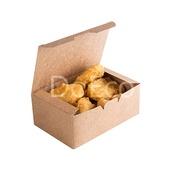 Контейнер под нагетсы Eco Fast food L Pure Kraft 150х91х70