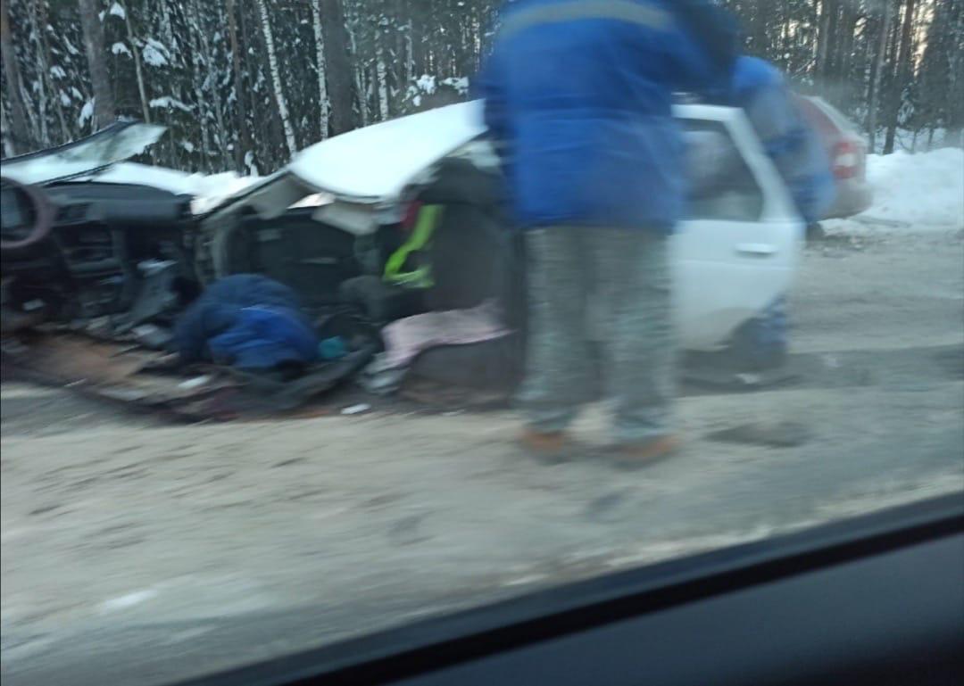 смертельная авария в Навашинском районе