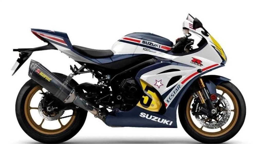 Спортбайк Suzuki GSX-R1000R Legends Editions 2021
