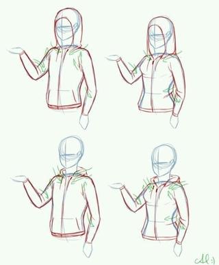 Рисуем одежду