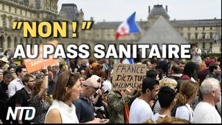 Manifestations anti-pass sanitaire en France ; 4 hackers d'État chinois accusés pour des attaques
