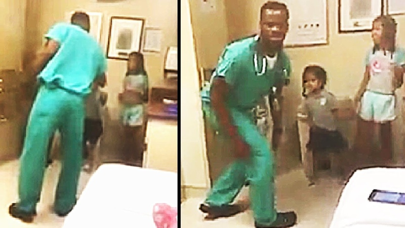 When Mom Saw What This Doctor Was Doing With Her Kids, She Captured His Actions on Camera
