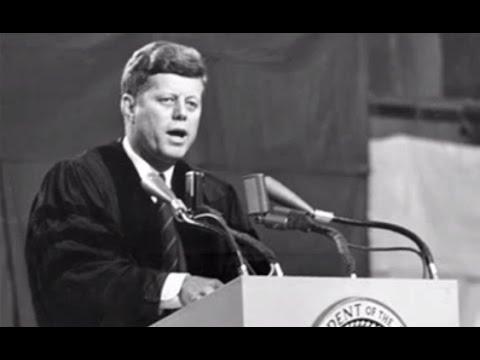 JFK's speech in Amherst Massachusetts October 26 1963
