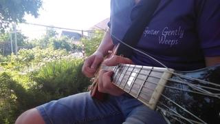 Country guy plays awesome Blues / Сельский парень играет офигенный блюз