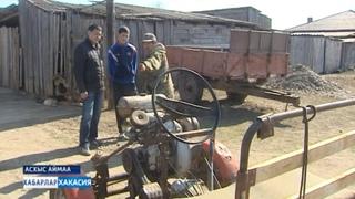 Квадроцикл своими руками смастерили отец с сыном Дмитрий и Марат Чебодаевы из села Анхаково