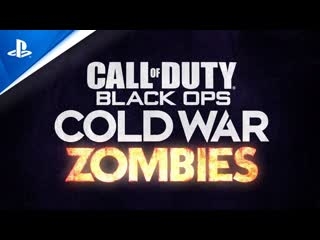 Call of Duty: Black Ops Cold War   Трейлер режима Зомби   PS4