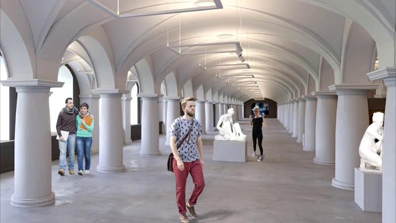 Концепция Калининградского музея изобразительных искусств в здании бывшей кёнигсбергской биржи