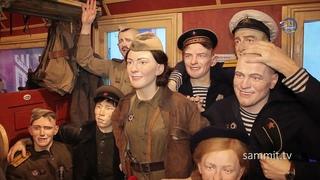 В Полоцк приезжал «Поезд Победы». Как это было