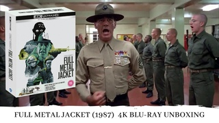 Blu-Ray Unboxing of Full Metal Jacket (1987) 4K UHD   Limited Edition   Stanley Kubrick