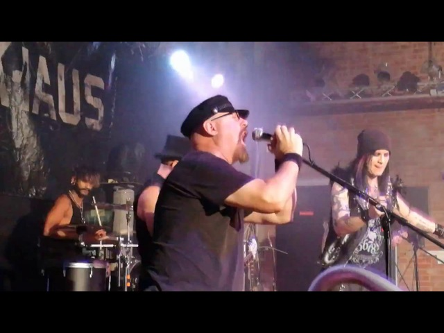 Hell Boulevard feat Gary Meskil Pro Pain Darkhaus Kulttempel Oberhausen 23 10 2016