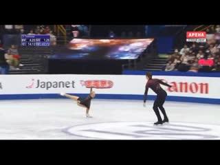 Evgenia Tarasova & Vladimir Morozov 2019 World Figure Skating Championships SP  Alternative (Time, Forward!)