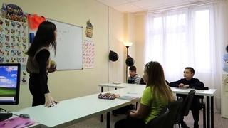 Первый урок английского языка в группе начального уровня